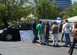 Piedmont Booth at Earth Day