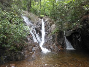 Cabin Creek Waterfall