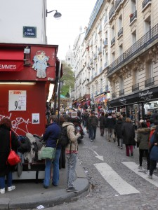 Montmartre - shopping