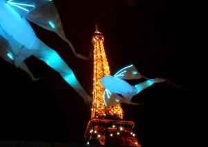 Tour Eiffel - whales