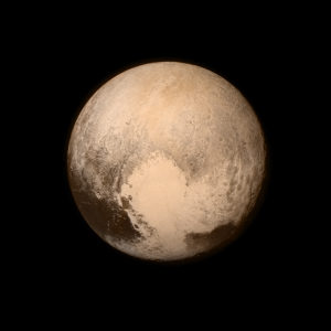 Pluto photo by New Horizons